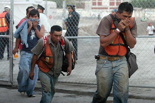 Otra vez pánico en la ciudad de México; Una fuga Gas azoto la zona de Polanco