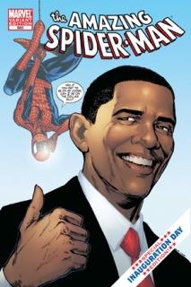 Obama se Spidermiza