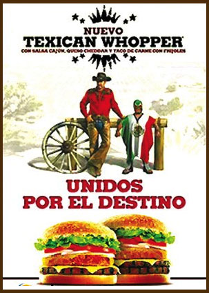Hamburguesa Texican Whopper de Burger King